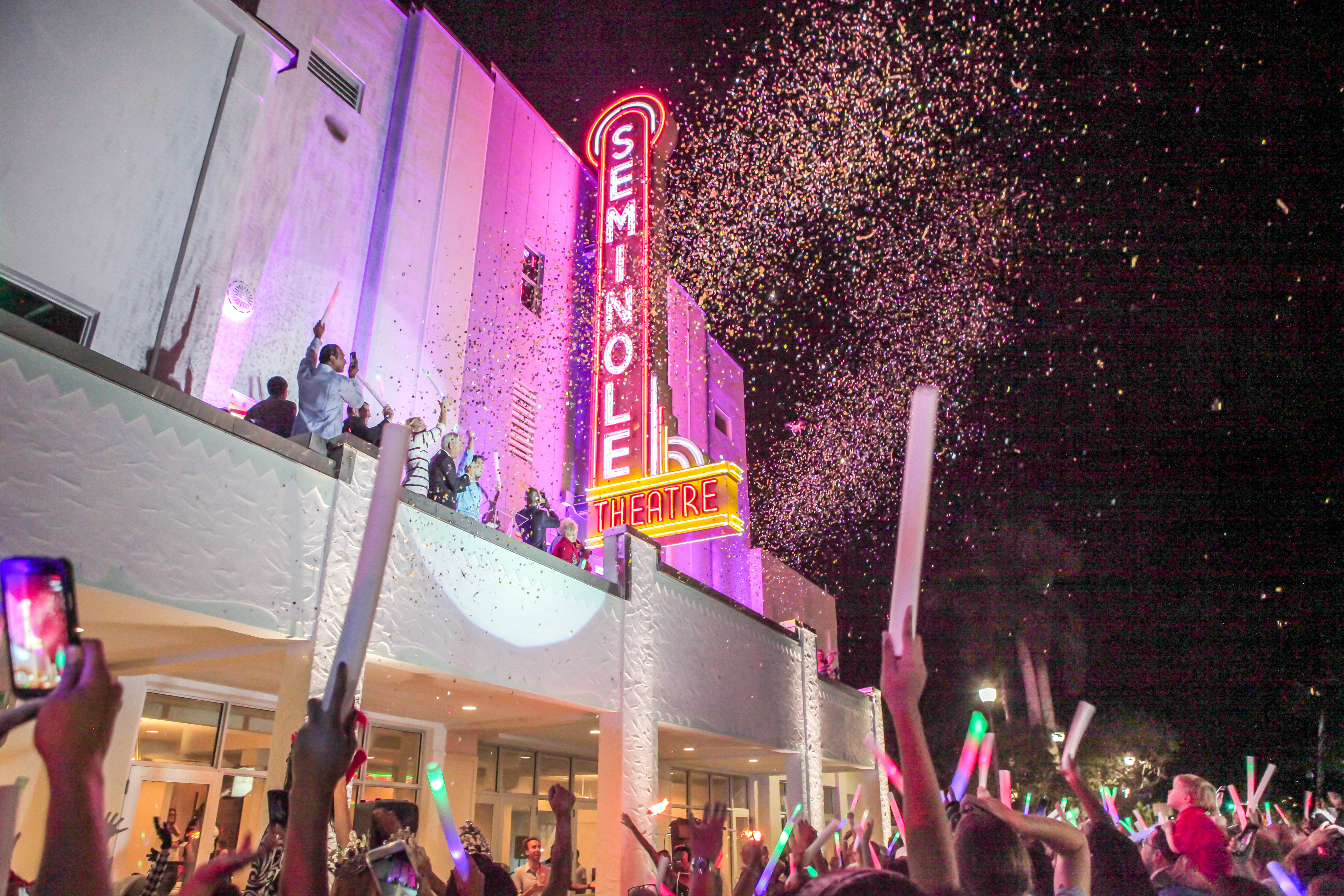 Seminole Theatre Completion Celebration