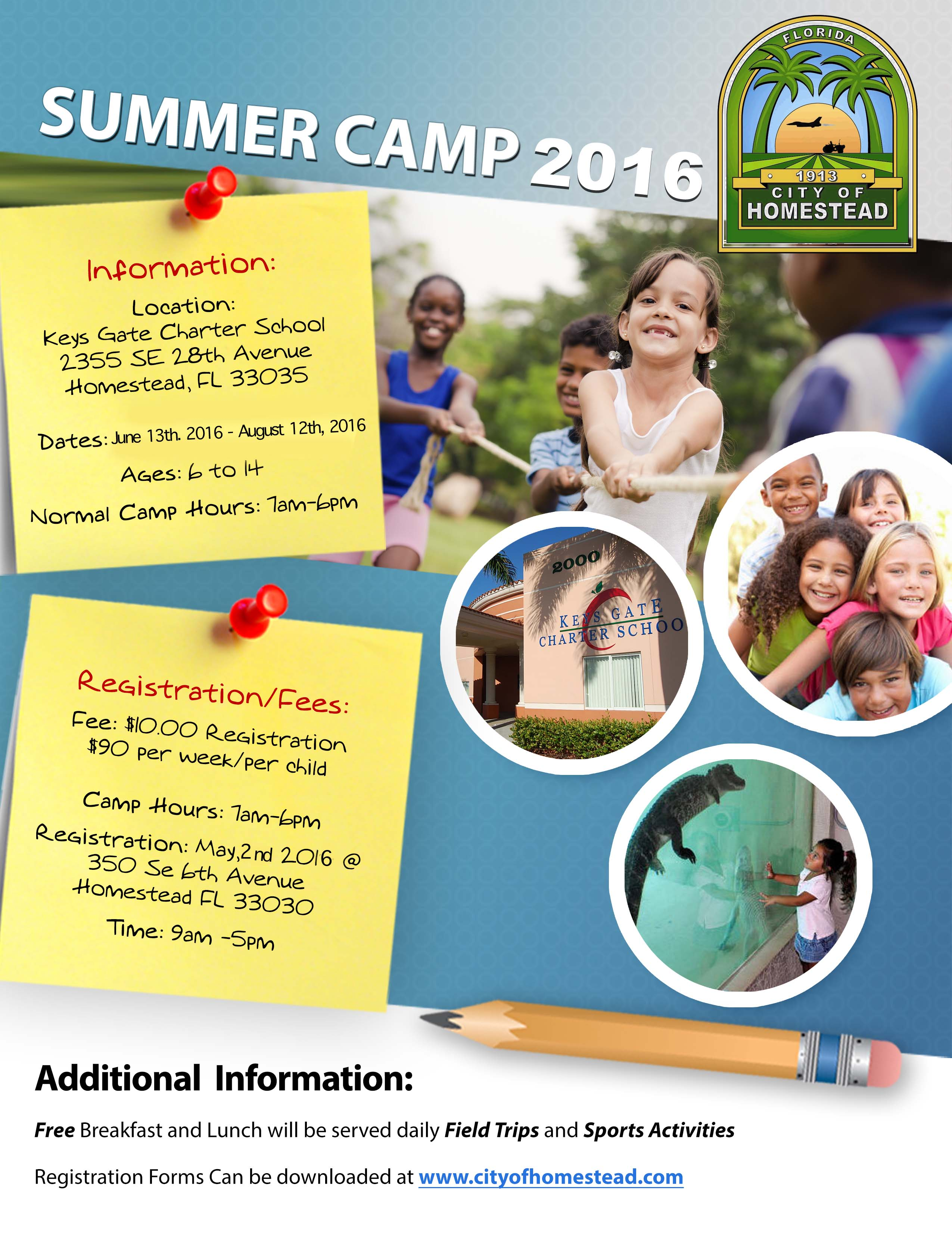 Summer Camp 2016 Flyer