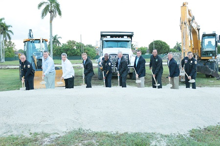 New Homestead Police Station Groundbreaking