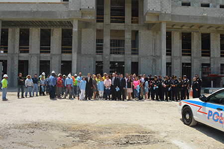 New Police Station Topping Off