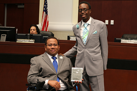 Councilman Williams Recognizes Pastor Stiles