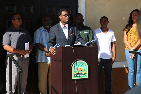 Councilman Williams Hosts Press Conference