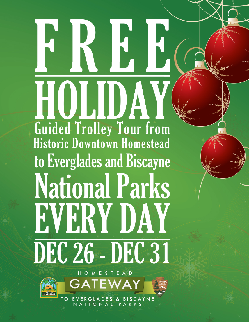 National Parks Trolley Holiday Service