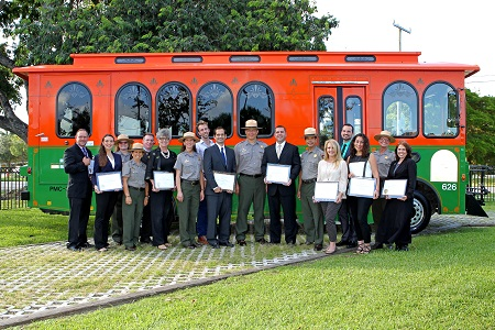 National Park Trolley Partnership Receives National Award