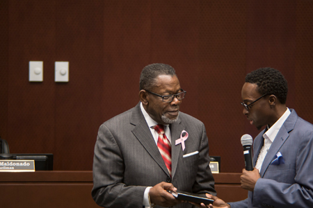 Councilman Williams and Pastor McKinney