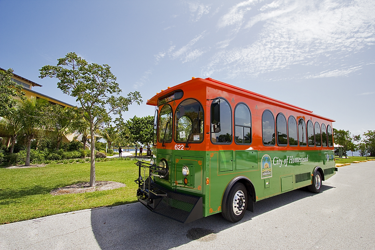 National Parks Trolley Returns