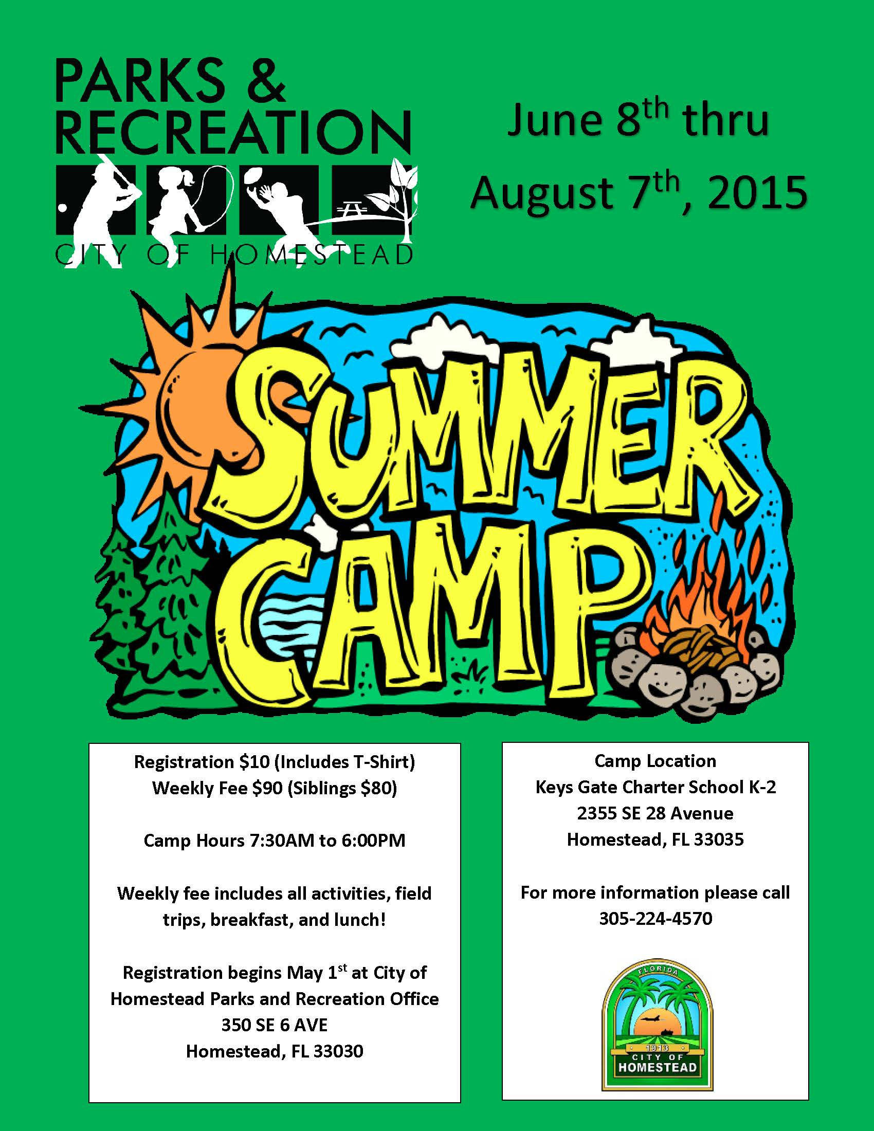 Parks and Recreation Summer Camp
